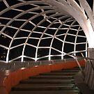 Seafarer's Bridge, South Wharf, Melbourne by Helen Greenwood
