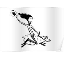 Sheep Rider Poster