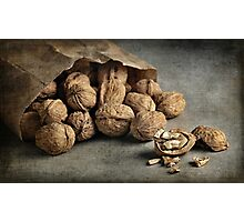 Still Life #29  -  Bag of Walnuts Photographic Print