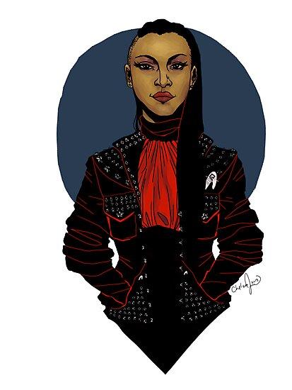 Punk!Uhura Clear by Chelsea Jones