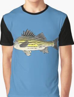 Yellow Bass Graphic T-Shirt