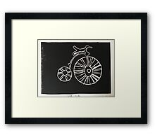 Penny Farthing by Darcy Endacott Framed Print