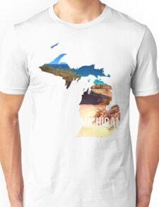 Michigan Beach Unisex T-Shirt