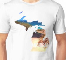 Michigan Beach Unisex T-Shirt