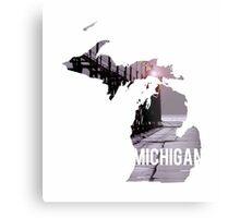 Michigan Dock Metal Print