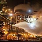 Night Shift @ Kwinana Refinery by Mark  Nangle