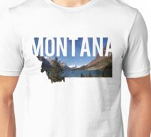 Montana Mountains Unisex T-Shirt