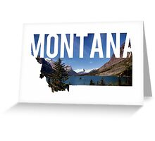 Montana Mountains Greeting Card