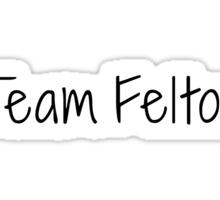 Team Felton tee Sticker