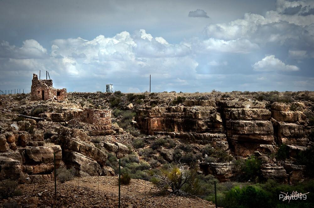 Ruins at Two Guns by Patito49