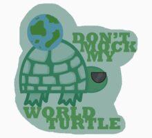 World Turtle by ohfangirlplease