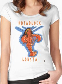 Dreadlock Lobsta Women's Fitted Scoop T-Shirt