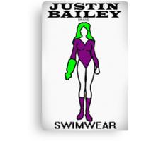 Justin Bailey Brand Swimwear Canvas Print