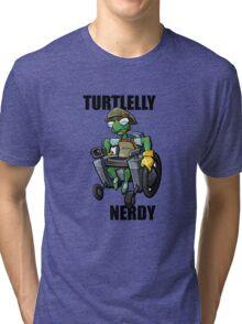Bentley - turtlelly nerdy! Tri-blend T-Shirt