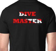 DIVE MASTER WITH SCUBA FLAG Unisex T-Shirt