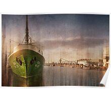 Bremerhaven, Trawler Gera Poster