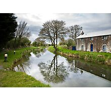 Grand Canal at Miltown, Co Kildare Photographic Print