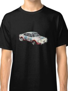 VINTAGE RALLY CAR. Classic T-Shirt
