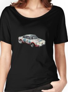 VINTAGE RALLY CAR. Women's Relaxed Fit T-Shirt