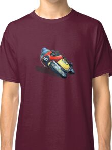 VINTAGE RACING MOTORCYCLE. Classic T-Shirt