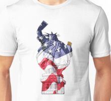 Funny supasize me Statue of Liberty Unisex T-Shirt