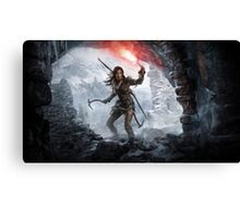 Lara Croft--Tomb Raider Canvas Print