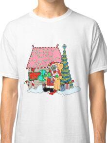 Santa at the Mall Classic T-Shirt