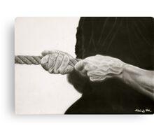 tug o war Canvas Print