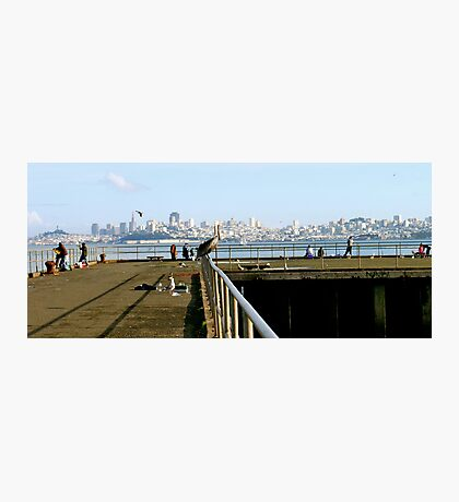 San Francisco in the distance Photographic Print