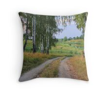 Early Evening in Late Summer Throw Pillow
