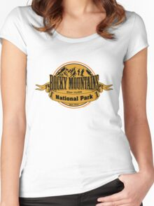 Rocky Mountains National Park, Colorado  Women's Fitted Scoop T-Shirt