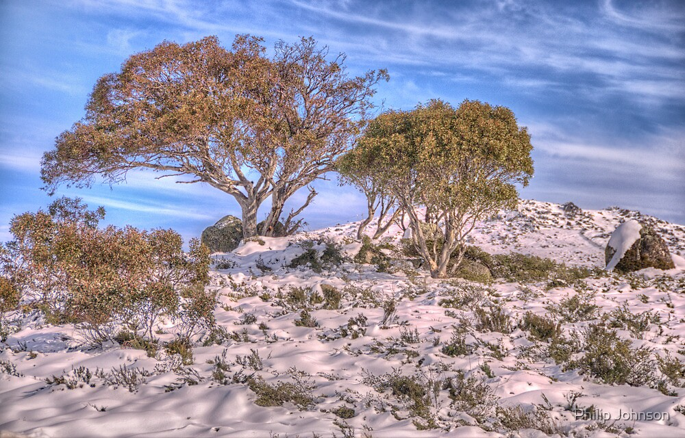 High Country Magic - Perisher Valley NSW - The HDR Experience by Philip Johnson