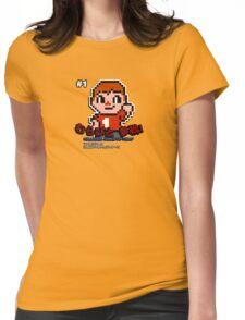 Villager 8 bit Womens Fitted T-Shirt
