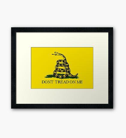 Gadsden Flag Framed Print