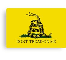 Gadsden Flag Canvas Print