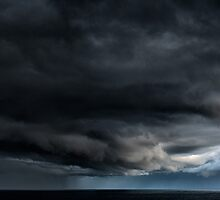 As the storm approaches by RobKPhotography