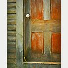 Red Door, stonington Maine by Dave  Higgins