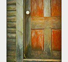 Red Door, stonington Maine by Dave  Higgins