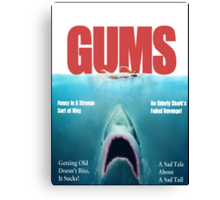 Gums Canvas Print