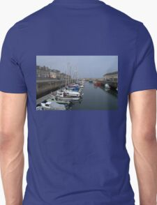 Boats in Lossiemouth Harbour Unisex T-Shirt