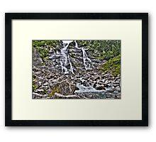 Nardis Waterfall Framed Print