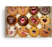 Freaking Donuts Canvas Print
