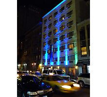 NYC, Manhattan, Taxi Photographic Print