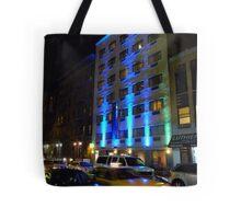 NYC, Manhattan, Taxi Tote Bag