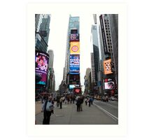 NYC Times Square Art Print
