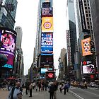 NYC Times Square by FangFeatures