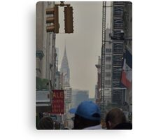 NYC Chrysler Building Sneak Peek Canvas Print