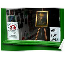 Art For Sale Poster