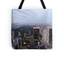 NYC Central Park View at Dusk Tote Bag