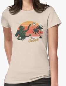 Coast Of The Titans Womens Fitted T-Shirt